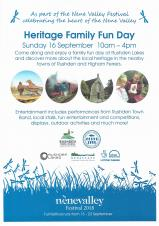 Join us for the Heritage Family Fun Day – 16th September 10am til 4pm
