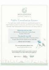 Rushden East Consultation event