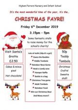 Higham Ferrers Nursery and Infant School Christmas Fayre