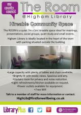 Higham Library Room Hire