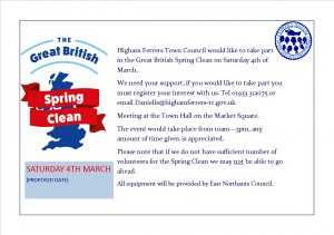 Higham Ferrers Spring Clean