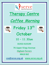 Therapy Centre Coffee Morning