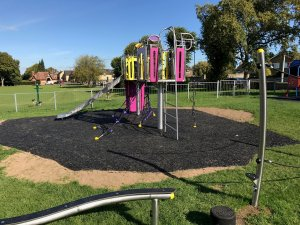 New Play Equipment at Saffron Road Play Area